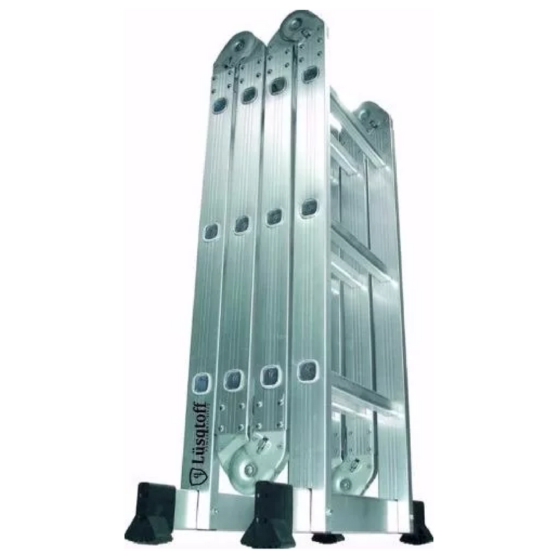 Escalera articulada plegable multiprop sito 4 70m lusqtoff 4x4 for Escalera multiproposito