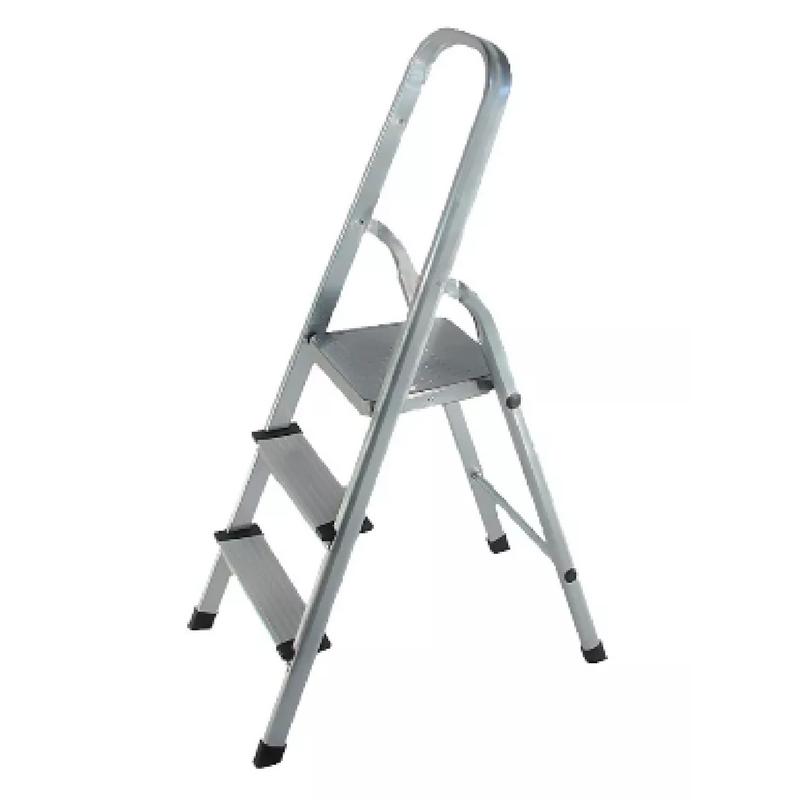 Escalera plegable de aluminio tipo tijera 3 pelda os kld 1750 for Escalera aluminio plegable