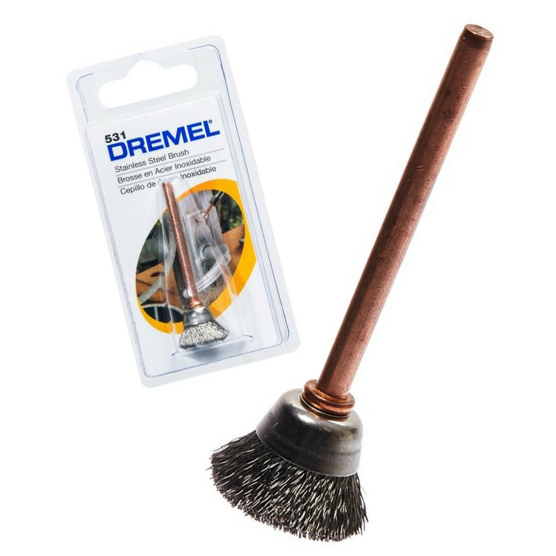 Dremel 531 Cepillo de acero inoxidable 13 mm