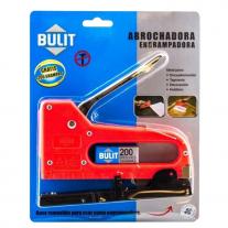 Abrochadora Engrampadora Bulit 6 y 8mm Clavos 15mm