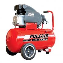 Compresor De Aire Pulsair 50 litros 2 HP 2 salidas