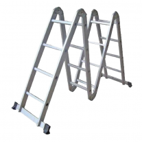 Escalera Articulada Multiproposito KLD 1756 - 4x4 - 4,70m - Aluminio