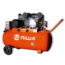 Compresor Niwa ACW100 Bicilíndrico 2HP Tanque 100Lts