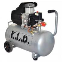 Compresor De Aire Sin Aceite KLDCO52 50 litros 2,5HP 2 Salidas