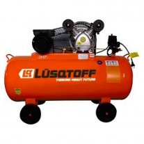 Compresor Lusqtoff Monofásico LC30100 3HP Tanque 100Lts
