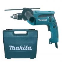 Taladro Percutor Makita HP1640K - 13 mm 760 w - con maletín