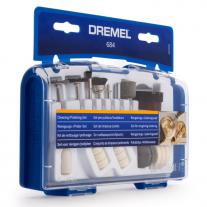 Set Kit De Accesorios Para Pulir 20 Piezas Para Mini Torno Dremel 684