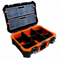 Maletín Caja De Herramientas Tactix Tx320064 Con Gaveteros y Modulos Organizadores