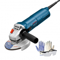 Amoladora Angular Bosch Gws 11-125 1100w 5 Pulg + Kit De Regalo