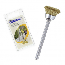 Cepillo De Latón Limpeza y Pulido 13mm Dremel 536
