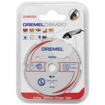 Disco De Corte Multiuso 20mm DSM500 Para Dremel Saw Max