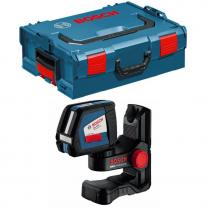 Nivel Láser Autonivelante Bosch GLL 2-50 + Soporte BM1 + Maletín