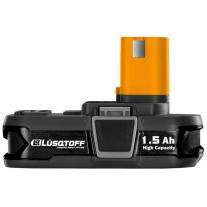 Batería Ion De Litio 1.5AH 18v Lusqtoff TGMB1518
