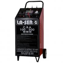 Cargador Arrancador 12 y 24v LA-SER 100/500