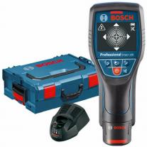 Detector Digital De Materiales Bosch D-TECT 120 + Maletín, Cargador y Batería