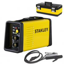 Soldadora Inverter Stanley POWER 185-160A 160 amp + Maletín plástico - Origen Italia