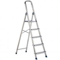 Escalera De Aluminio Plegable 5 Escalones KLD 102 cmts