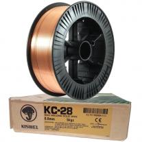 Alambre Para Soldar Kiswel ER70S-6 KC-28 0.6mm 5Kg
