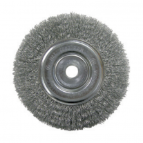 "Cepillo De Acero Rizado FPL 5""x 21mm Buje 16mm"