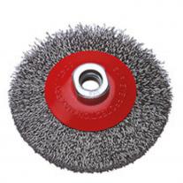 Cepillo De Acero Rizado Ruhlmann 100 mm C/Tuerca