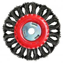 Cepillo De Acero Trenzado FPL 115 mm Sin Tuerca