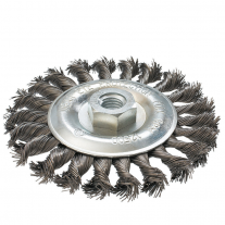 Cepillo Acero Trenzado Ruhlmann 115 mm Con Tuerca