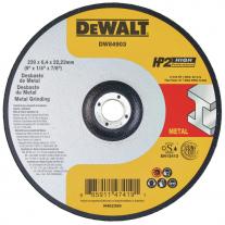Disco Centro Plano Dewalt Abrasivo 230 X 6.4 X 22.23 Inoxidable y Metal