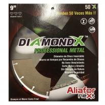 """Disco Diamantado Aliafor Bs-9 Para Corte De Metales 9"""" 230mm"""