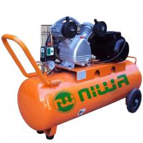 Compresor Niwa 150 Litros 3 HP Monofásico 2 Cilindros