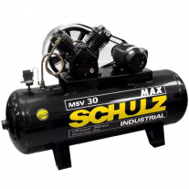 Compresor De Aire A Correa Schulz 7,5 Hp 350 Lts Trifásico