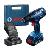 Taladro Atornillador Inalámbrico Bosch Gsr180-Li + 2 Baterías y Maletín