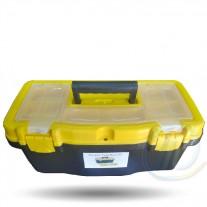 """Caja de herramientas 16"""" plástica con organizador"""