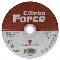 Disco Centro Plano Carborundum 178X1.6X22 Carbo Force
