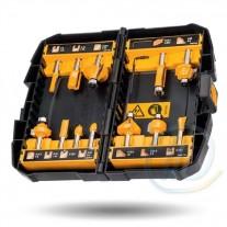 Set 12 Fresas Para Router Dw90016 Dewalt Profesional