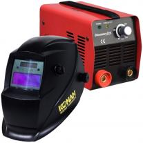 Soldadora Laser Discovery 160 Amp + Máscara Fotosensible Konan