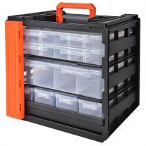 Maletín Caja Transportable Gavetero Transportable 4 Cajones Tactix 320047