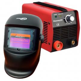 Soldadora Laser Discovery 160 Amp + Máscara Fotosensible Facsa