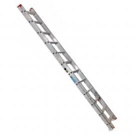 Escalera De Aluminio Extensible Alpina 24 Peldaños 136kgs 6.40mts