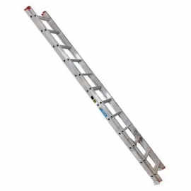 Escalera De Aluminio Extensible Alpina 32 Peldaños 136kgs 8.84mts