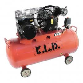 Compresor Kld Bicilíndrico 100 Lts Motor 3 Hp