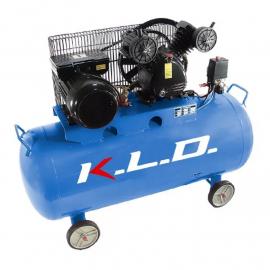 Compresor Kld Bicilíndrico 150 Lts Motor 3 Hp