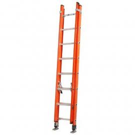 Escalera Dieléctrica Alpina Extensible de 8 a 16 Escalones 150kg