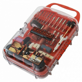 Set Kit De Accesorios Para Mini Torno Black Decker 175 Piezas
