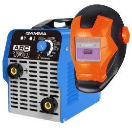 Soldadora Inverter Gamma Arc160 - 160 Amp + Máscara Fotosensible IronMan ST-1I