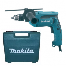 Taladro Percutor Makita HP1640K - 13 mm 680 w - con maletín