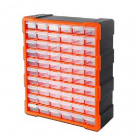 Gavetero Organizador Plástico Tactix 320638 Con 60 Cajones