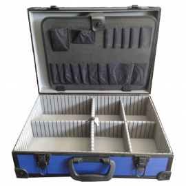 Maletin Portafolio Valija Aluminio - Caja Herramientas