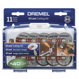 Set Kit Discos Discos De Corte 11 Piezas Para Mini Torno Dremel EZ688