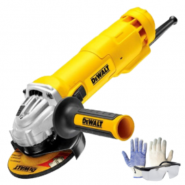 Amoladora Angular Dewalt Dwe4214 - 115mm 1200w + Kit De Regalo