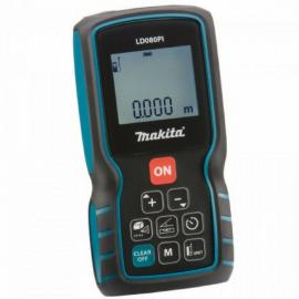 Medidor De Distancia Laser Makita LD080PI 80mts De Alcance
